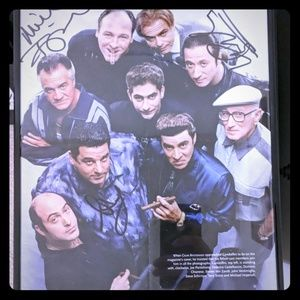 The sopranos autographed picture